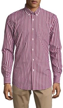 Jachs Men's One Pocket Button-Down Collar Shirt