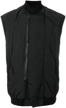Julius zipped vest