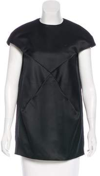 Courreges Structured Cap Sleeve Tunic