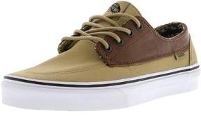 Vans Brigata C And L Moroccan Geo / Khaki Ankle-High Canvas Skateboarding Shoe - 8.5M 7M