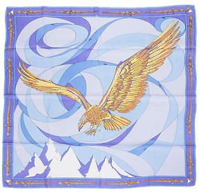 One Kings Lane Vintage Pucci Silk Twill Eagle Print Scarf