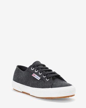 White House Black Market 2750 Superga Gray Sneakers