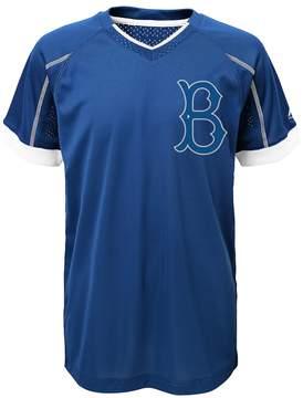 Majestic Boys 4-7 Los Angeles Dodgers Hunker Down Tee