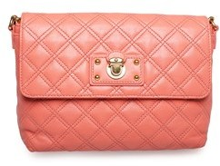 Marc Jacobs Women's 'the Large Single' Shoulder Handbag Flamingo. - PINK - STYLE