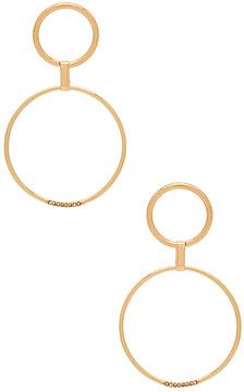 Ettika Circle Link Earrings
