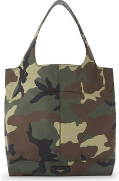 Givenchy Camouflage Cordura canvas tote