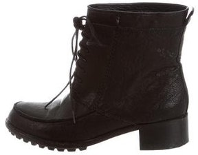 Elizabeth and James Round-Toe Ankle Boots