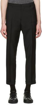 Jil Sander Black Slim Fit Suit Trousers