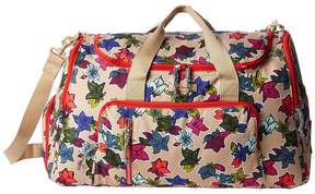 Vera Bradley Lighten Up Ultimate Gym Bag Bags - FALLING FLOWERS NEUTRAL - STYLE