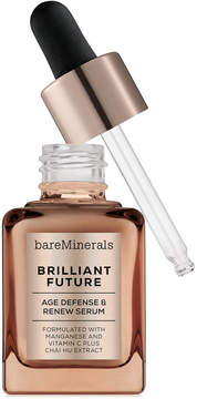 bareMinerals Correctives Brilliant Future Age Defense & Renew Serum, 1 oz