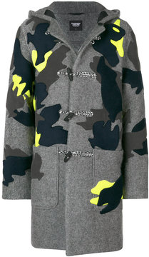 Christopher Raeburn patch detail hooded coat