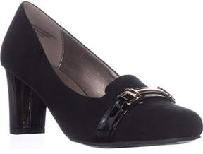 Karen Scott Ks35 Penzey Square-toe Dress Heels, Black.
