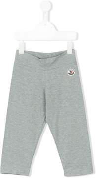 Moncler embroidered logo sweatpants