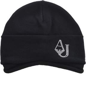 Armani Jeans Draped Knitted Beanie