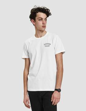 Reigning Champ Varsity Jersey Tee in White/Black