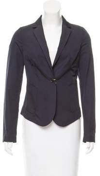 Calvin Klein Collection Fitted Woven Blazer