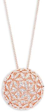 Adriana Orsini Women's Anise Crystal Sphere Pendant Necklace