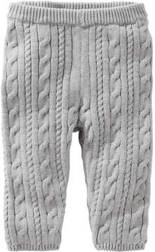 Osh Kosh Baby Girl Gray Cable Knit Sweater Leggings