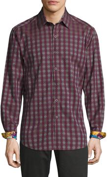 Robert Graham Men's Cotton Gideon Sportshirt