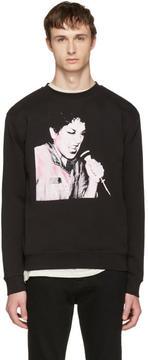 McQ Black Graphic Clean Sweatshirt