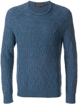 MICHAEL Michael Kors textured knit sweater