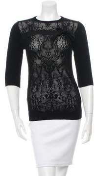 Alessandro Dell'Acqua Knit Crew Neck Sweater
