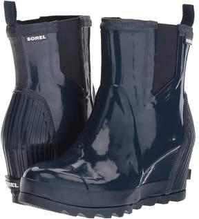 Sorel Joan Rain Wedge Chelsea Gloss Women's Waterproof Boots
