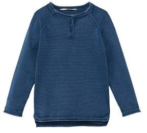 MANGO Ribbed edges sweater