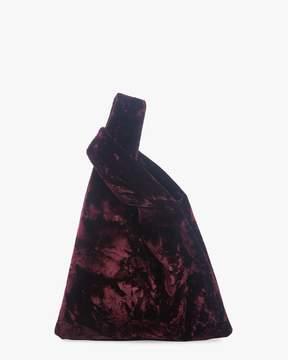 Hayward Folded Velvet Mini Shopper Bag