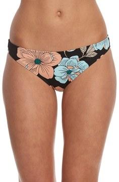 Bikini Lab Swimwear 40 Flower Week Cinched Back Hipster Bikini Bottom 8153524