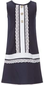 Bonnie Jean Little Girls 4-6X Sleeveless Shift Dress