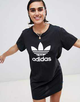 adidas T-Shirt Dress With Trefoil Logo