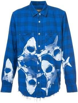 Amiri shark flannel shirt