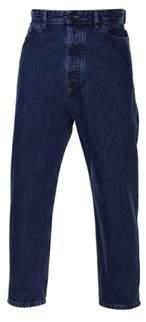 Diesel Black Gold Men's Blue Cotton Jeans.