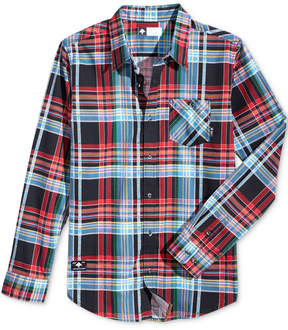 Lrg Men's Indulgent Plaid Twill Shirt