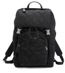 Prada Quilted Performance Backpack