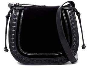 Lucky Brand Wess Leather Saddle Shoulder Bag