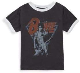 Rowdy Sprout Toddler's, Little Boy's & Boy's David Bowie Cotton Tee