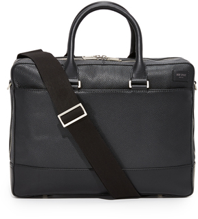 Jack Spade Pebbled Leather Commuter Briefcase