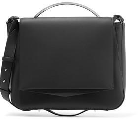 Eddie Borgo Pepper Saddle Matte-Leather Shoulder Bag