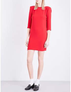 Claudie Pierlot Rimel crepe mini dress