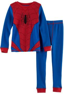 Cuddl Duds Toddler Boy Marvel Spider-Man 2-pc. Thermal Base Layer Top & Pants Set