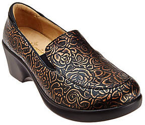 Alegria As Is Leather Slip-ons with Side Goring - Emma