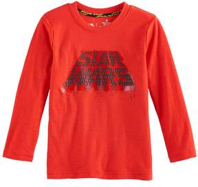 Star Wars A Collection For Kohls Toddler Boy a Collection for Kohl's Metallic Graphic Tee by Jumping Beans