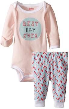 Skip Hop Baby Says Long Sleeve Bodysuit Pants Kid's Active Sets