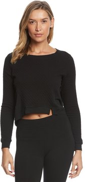 Hard Tail Notch Front Quilted Sweatshirt 8152076