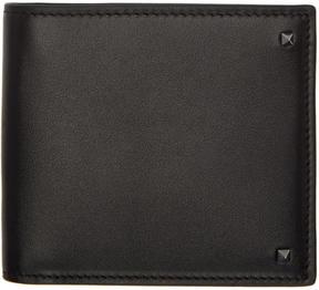 Valentino Black Garavani Mini Rockstud Wallet