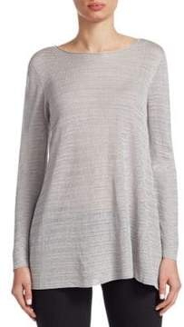 Emporio Armani Knit Long-Sleeve Top