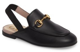 Gucci Toddler Girl's Princetown Loafer Mule