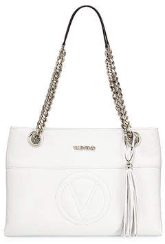 Mario Valentino Valentino By Karina Sauvage Leather Shoulder Bag